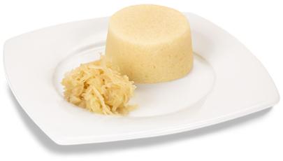 Sauerkraut-Timbale, passiert