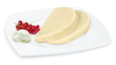 Kräuter-Frischkäse-Brot, passiert